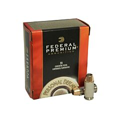 Federal Self Defense 40 S&W 180 Grain Jacketed Hollow Point 20 Rounds