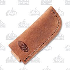 Case Open Top Leather Sheath