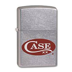 Zippo Case Logo Red Lighter