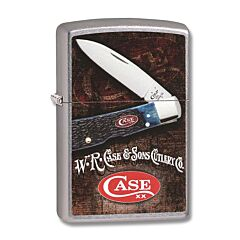 Zippo Case Tribal Lock Lighter