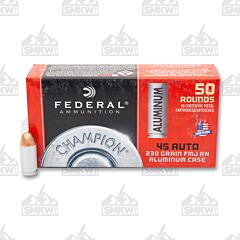 Federal Champion 45 ACP 230 Grain Full Metal Jacket 50 Rounds