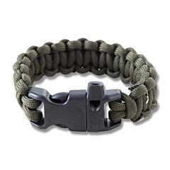 """Combat Ready 8"""" OD Green Survival Bracelets"""