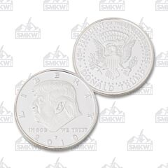 Sliver Plated Liberty 2019 Trump Challenge Coin