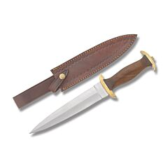 Szco 14th Century Dagger Stainless Steel Blade Wood Handle