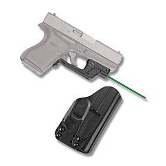 Crimson Trace Laserguard Green Laser for Glock 43 with BT Holster Model LG-443G-HBTG