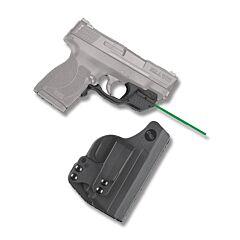 Crimson Trace Laserguard Green Laser for Shield 45 with Holster Model LG-485HBT