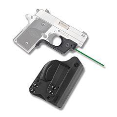 Crimson Trace Laserguard Green Laser for SIG P238/P938 with BT Holster Model LG-492G-H