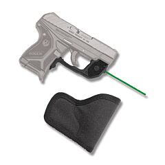 Crimson Trace Laserguard Green Laser for Ruger LCPII with S Holster Model LG-497GH