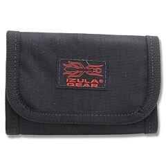 ESEE Knives Izula Gear Black Tri-Fold Cordura Wallet Model ESEE-B-FB