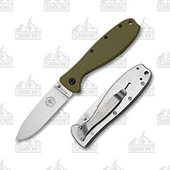 ESEE Zancudo Satin Blade Olive Drab Nylon and Satin Stainless Handles