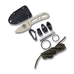 ESEE Candiru Desert Tan Blade Black Sheath With Optional Kit