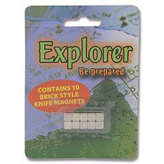 Explorer Brick Style Knife Display Magnets