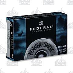 "Federal Power-Shok 16 Gage 2.75"" 4/5 oz. Slug Shot 5 Rounds"