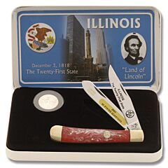 Frost Cutlery Illinois State Quarter & Trapper Collector Set