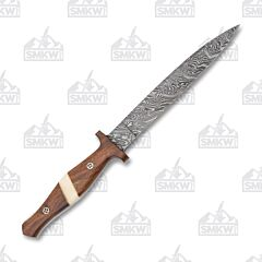 Frost Cutlery Valley Forge Damascus Dirk