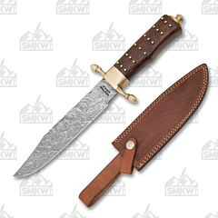 Frost Cutlery Valley Forge Damascus Bowie