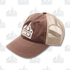 SMKW Logo Hat Brown and Tan