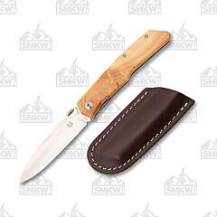 Fox Knives Terzuola Ginepro Wood