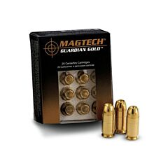 Magtech Guardian Gold 380 ACP +P 85 Grain Jacketed Hollow Point 20 Rounds