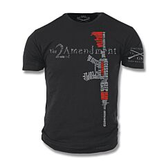 Grunt Style 2nd Amendment T-Shirt - Medium