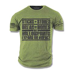 Grunt Style Hollow Points T-Shirt - Large
