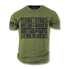 Grunt Style Hollow Points T-Shirt - Small