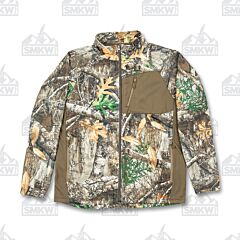 Berne Workwear Men's Imperial Bull Full-Zip Performance Fleece Realtree Edge