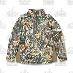 Berne Workwear Stalker Quarter-Zip Shirt Realtree Edge