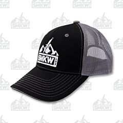SMKW Logo Hat Black and Gray