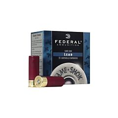 Federal Game Shok 16 Gauge 2.75 1-1/8 oz #6 Lead Shot 25 Rounds