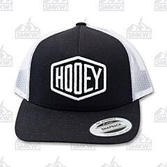 Hooey Plush Black/White Trucker Hat