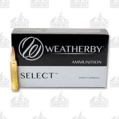 Weatherby Select 257 Weatherby Magnum 100 Grain 20 Rounds