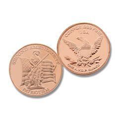 2nd Amendment 1 oz Copper Round