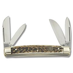 Hen and Rooster Stag Congress Solingen Stainless Steel Blades