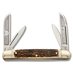 Hen and Rooster Stag Tobacco Congress Stainless Steel Blades