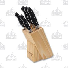 Hen & Rooster 6 Piece Knife Block Set