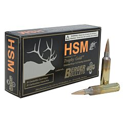 HSM 6.5mmx284 Norma 140 Grain Jacketed Hollow Point 20 Rounds