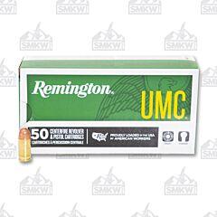 Remington UMC Ammo 380 Auto 95 Grain Full Metal Jacket 50 Rounds