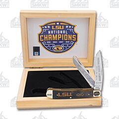 Frost Cutlery LSU 2019 National Champions Buffalo Horn Trapper