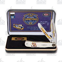 Case LSU 2019 National Champions Natural Smooth Bone Trapper