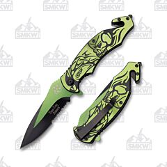 Dark Side Blades DS-A061GN Spring Assisted Knife