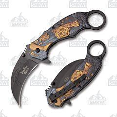 Dark Side Blades Tiger Karambit Folder
