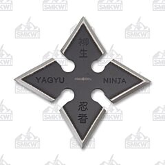 Perfect Point Black 4 Point Throwing Star 440 Steel