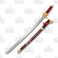 Master Cutlery SW-87 Samurai Sword Red