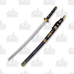 Master Cutlery SW-89 Samurai Sword Black