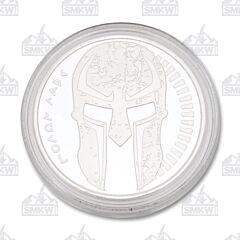 Marfione Silver Spartan Molon Labe Coin