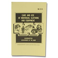 U.S. Army Care of Individual Clothing and Equipment Field Manual