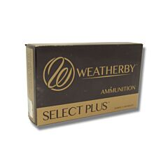 Weatherby Select Plus 257 Weatherby Magnum 120 Grain Nosler Partition 20 Rounds