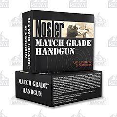 Nosler Match Grade 9mm Luger 115 gr Jacketed Hollow Point 20 Rounds
