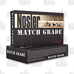 Nosler Match Grade 308 168 Grain HPBT 20 Rounds